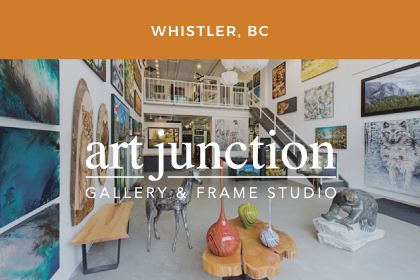 kandice keith art junction whistler orange