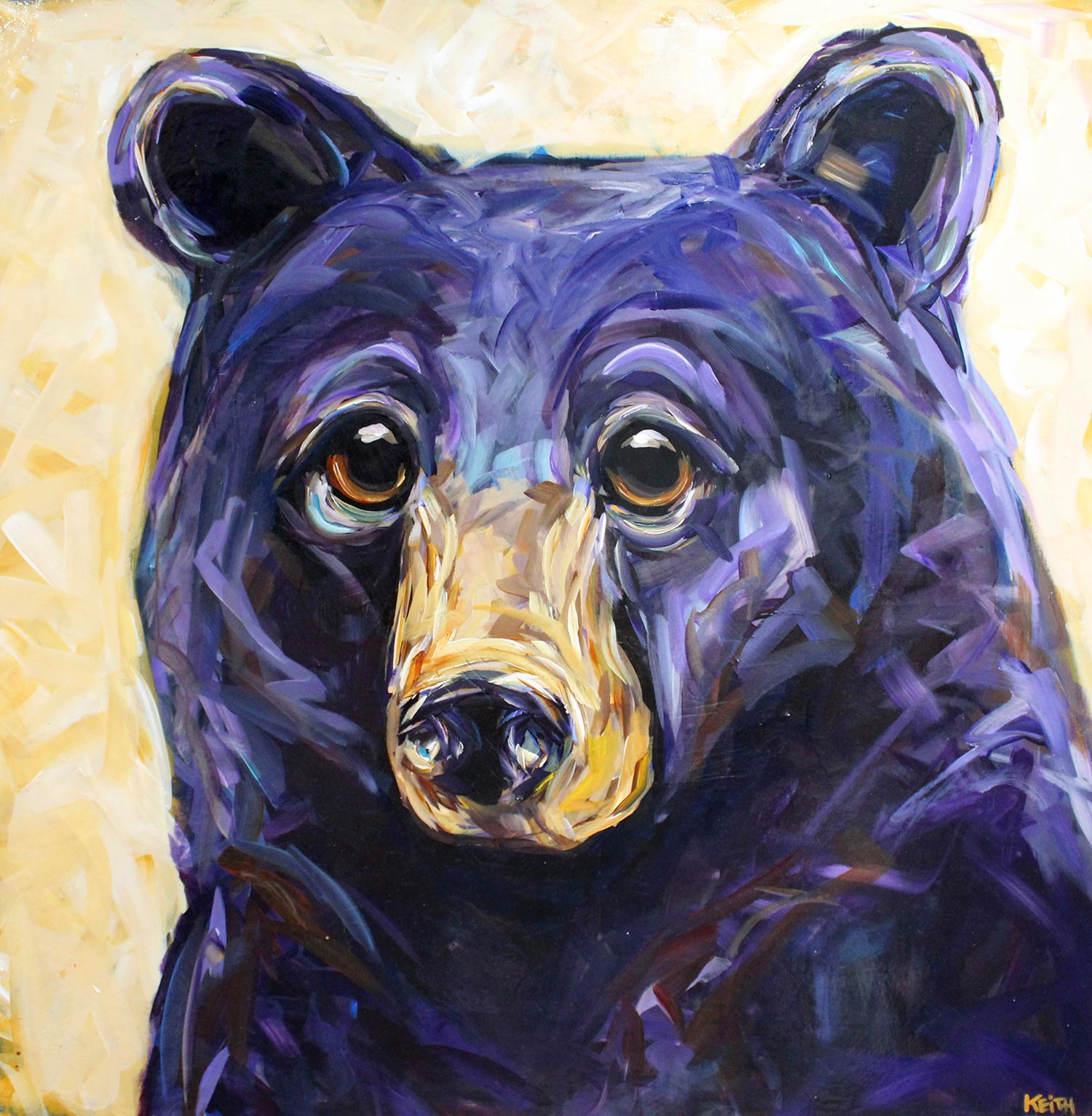 kandice keith art beautiful bears Devon